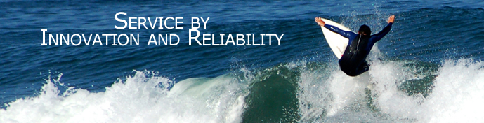 Banner Leistungen en: Service by innovation and reliability